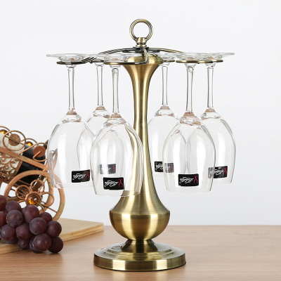 舒廳 倒掛紅酒杯架酒柜創意家用裝飾品擺件客廳工藝家居擺設現代簡約