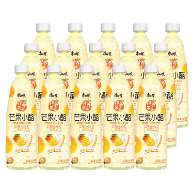 康师傅 苏宁超市 芒果小酪500ml*15瓶 整箱