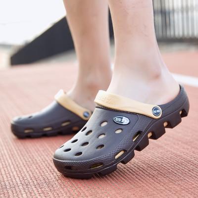 回力洞洞鞋沙灘鞋男夏季包頭拖鞋男士女士情侶涼拖涼鞋 049 WXL-1066