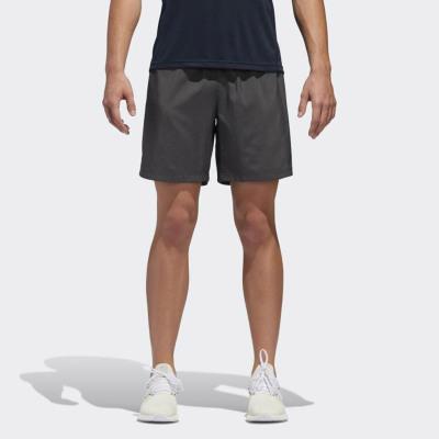 阿迪達斯男士運動短褲純色舒適柔軟口袋DQ2558