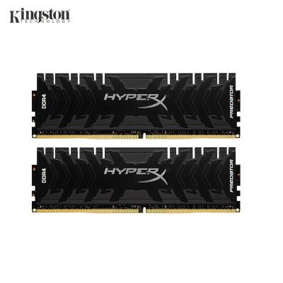 金士顿(Kingston) DDR4 3600 16GB(8G×2)套装 台式机内存 骇客神条 Predator掠食者系