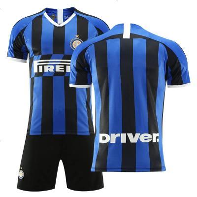 国际米兰球衣19-20主场足球服套装成人儿童球衣定制印字队服订制
