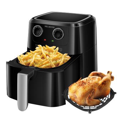 美菱電炸鍋 MZG-DZ0301 大容量 不粘涂層 一鍋多用 空氣炸鍋家用新款全自動無油煙炸鍋大容量智能薯條機標準款