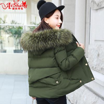 新款短款棉服女款新款冬季棉衣女短裝小襖韓版保暖外套學生棉襖潮