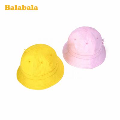 巴拉巴拉兒童帽子寶寶男童女童漁夫帽棒球帽遮陽百搭盆帽純棉時尚