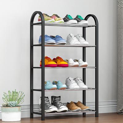艾格调简易鞋架家用多层经济型宿舍门口防尘收纳鞋柜省空间小号鞋架子K325