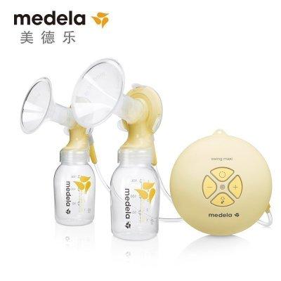 美德乐(Medela) 丝韵翼双侧电动吸乳器 母婴孕产妇吸奶器 瑞士原装进口