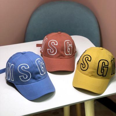 熱賣中大童棒球帽春秋季韓版時尚男童鴨舌帽百搭女童遮陽帽潮兒童帽子