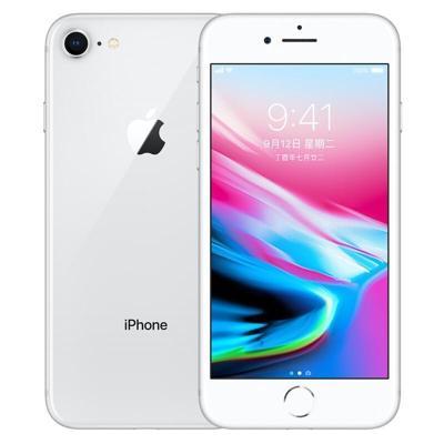 【二手9成新】苹果/Apple 8/iPhone 8 银色 64GB 移动联通电信全网通4G苹果手机 国行