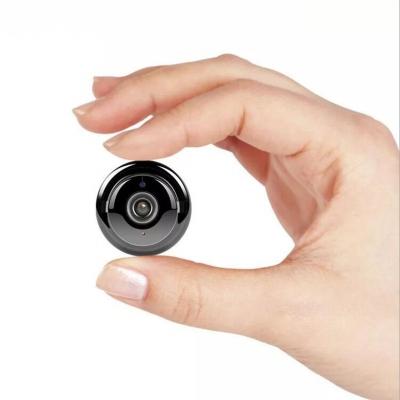 智能無線攝像頭wifi遠程迷你魚眼家用高清夜視網絡手機微型套裝監控器 掛鉤款 無內存卡