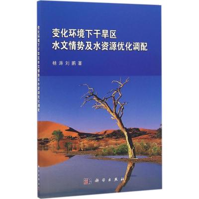 变化环境下干旱区水文情势及水资源优化调配