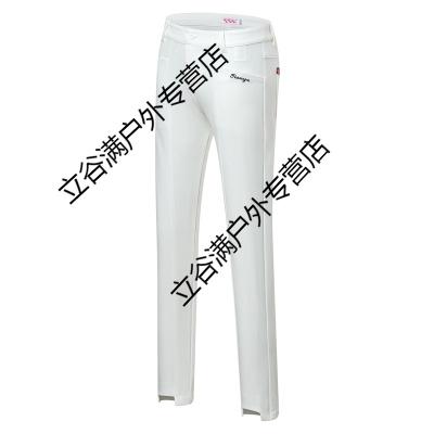 球服裝 女士短袖T恤 球服褲子套裝條紋速干春夏季運動衣服