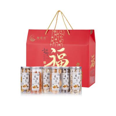 菌菇干貨禮盒裝特產干貨大禮包猴頭菇蟲草花湯包食材A2