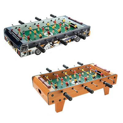 桌上足球机木质儿童4杆足球桌玩具男孩双人大号6杆节日礼品物