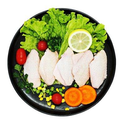 凤祥食品(Fovo Foods)鸡翅中1kg出口日本级 烧烤食材鸡翅 烤鸡翅炸翅中卤鸡翅 卤味鸡翅【新老包装随机发货】