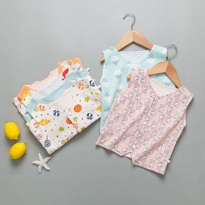 嬰兒背心夏季女童毛春馬甲小孩單男外套純棉幼衣大搖粒絨針織穿冬 臻依緣