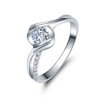 佐卡伊 邂逅 18k金显钻款钻戒女婚戒专柜钻石戒指送女友求婚表白