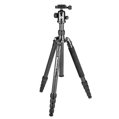 曼富圖(MANFROTTO) MKELEB5CF-BH便攜單反微單相機旅行攝影支架碳纖維相機三腳架云臺套裝