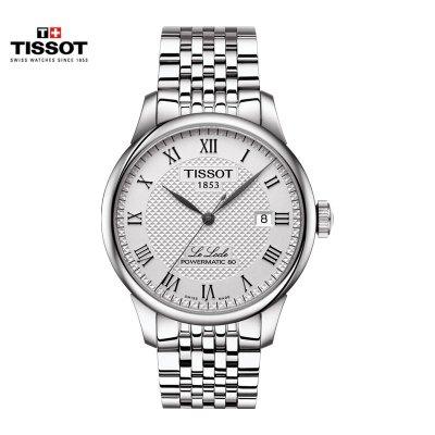 瑞士(TISSOT)天梭手表力洛克系列機械表男士 T006.407.11.033.00