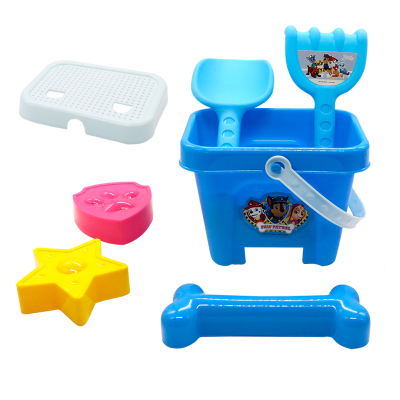 汪汪隊立大功兒童沙灘桶玩具套裝挖沙鏟子桶男孩女孩寶寶玩沙子決明子工具