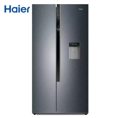【99新】Haier/海爾BCD-596WDBG雙門對開門變頻冰箱596L風冷無霜外取水設計 干濕分儲凈味節能靜音