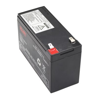 先鸿免维护蓄电池玩具门禁消防指纹打卡应急ups不间断电源专用 12v7ah长寿命电瓶音响卷闸门备用