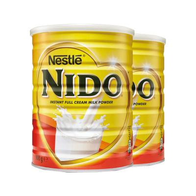 雀巢(Nestle)英國Nido全脂高鈣速溶孕婦媽媽成人營養高鈣奶粉900g*2罐