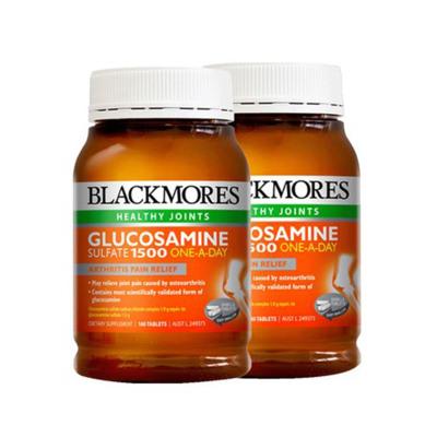 2件裝 澳佳寶BlackMores 關節靈維骨力葡萄糖胺軟骨素 180粒/瓶