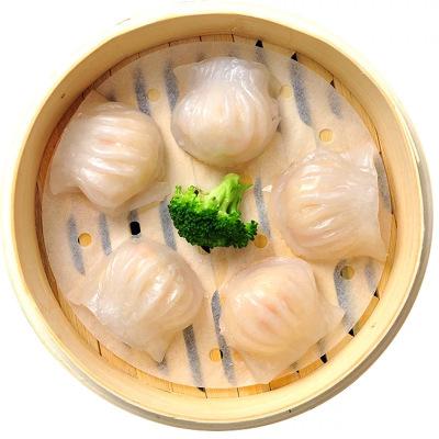 鲜聚汇 水晶虾饺皇500g*2袋 共40只 内含大虾仁 蒸饺馄饨