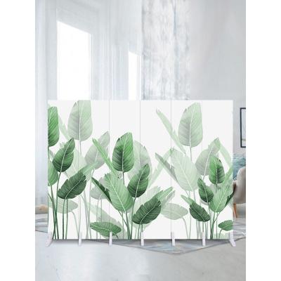 家具放心购中式实木屏风简约隔断客厅墙装饰移动折叠现代卧室布艺小户型折屏时尚新款