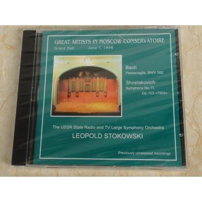 0030 斯托科夫斯基在莫斯科音乐学院现场录音