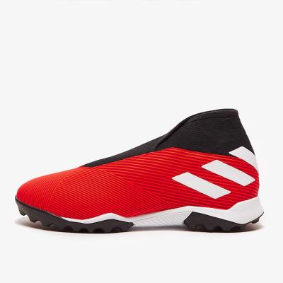 阿迪達斯官方 adidas NEMEZIZ 19.3 LL TF 無鞋帶 人工草 碎丁 男子足球鞋 G54686