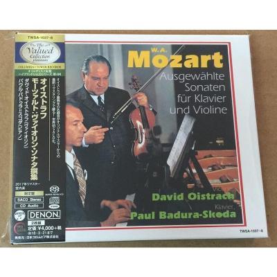 TWSA1037 莫扎特 小提琴與鋼琴奏鳴曲 大衛與斯科達 2SACD 預訂