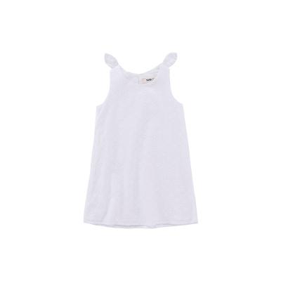 Жижиг улаан буурцагны хүүхдийн хувцас худалдааны төв нь ижил төстэй охидын зуны даавуун нөмрөг биелэгдэнэ юбка нь том, хүүхдийн том даашинз GXQ640KB3 150cm цагаан