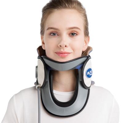 羅脈頸椎牽引器C02升級版 保護脖子 醫用家用頸托氣壓式拉伸護頸套 支撐固定矯正器男女老人落枕通用儀器 頸部疼痛