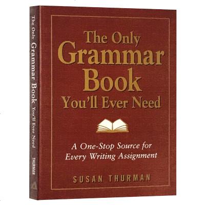 你永遠都需要的英語語法書 英文原版 The Only Grammar Book You'll Ever Need 全