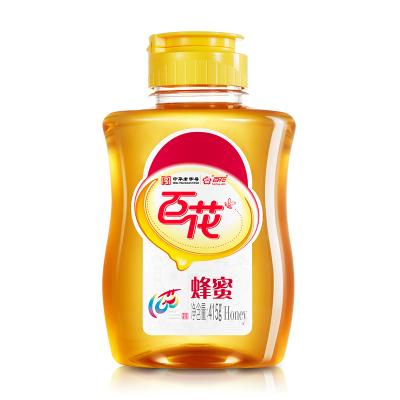 baihua百年老號 甜蜜匠心 百花純凈蜂蜜415g/瓶 百花蜜滋補蜂蜜 擠壓式 不滴灑 不沾蜜 方便攜帶 蘇寧自營
