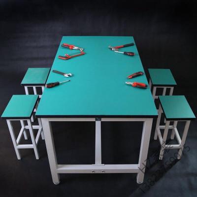 苏宁优选 静电工作台流水线操作台车间工作桌电子装配工作台实验桌