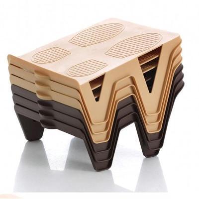 蘇寧放心購(1個不發貨)日式免安裝雙層鞋架雙倍鞋托鞋柜整理架塑料收納架鞋盒  A-STYLE家具
