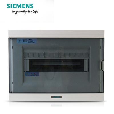 西门子(SIEMENS)13回路强电布线箱 空气开关箱配电箱透明色