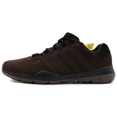 阿迪達斯(adidas)戶外鞋男鞋越野登山鞋耐磨徒步鞋M18555/M18556