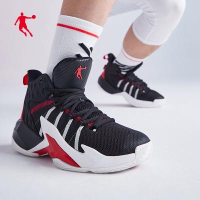 喬丹官方旗艦籃球鞋高幫球鞋男2020春季新款運動鞋減震耐磨籃球鞋實戰戰靴