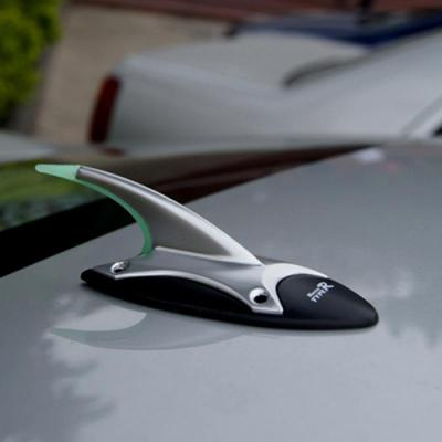 阿特萊 適用于TYPER鯊魚鰭汽車天線 裝飾天線車載消除防靜電天線熒光尾翼 頂翼 YH-6968天線