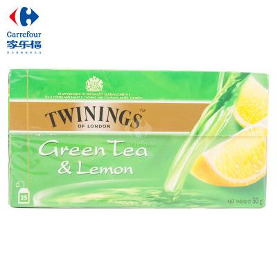 【家乐福】川宁(Twinings)柠檬绿茶50克