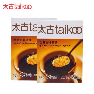 Taikoo太古调糖 金黄咖啡调糖 金黄赤砂糖 咖啡调糖伴侣 454g*2