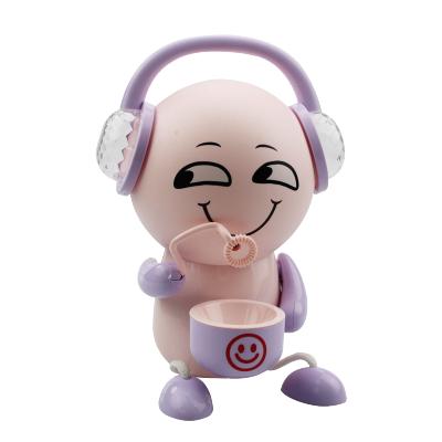 网红同款表情包泡泡机儿童全自动电动音乐夜光泡泡机玩具男孩女孩吹泡泡机抖音同款网红表情包少女心玩具电动全自动泡泡枪水补充液