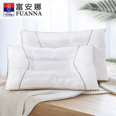 富安娜(FUANNA)家紡草本枕芯決明子情侶雙人枕頭助眠枕芯成人睡眠護頸椎枕單人枕一對裝