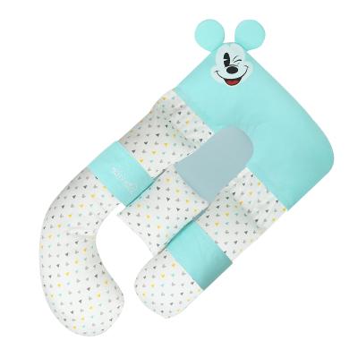 迪士尼(DISNEY)孕婦枕頭護腰側睡枕托腹u型抱枕孕期側臥枕孕睡覺神器用品孕婦枕
