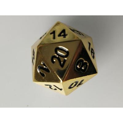 多面骰子 流浪20面骰子地球正二十面金属色子 COC跑团面体