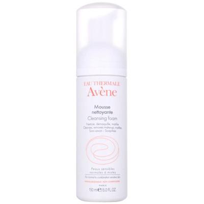 Avene雅漾凈柔潔面泡沫摩氨基酸溫和深層卸妝洗面奶150ml 潔面摩絲 深層清潔 各種膚質